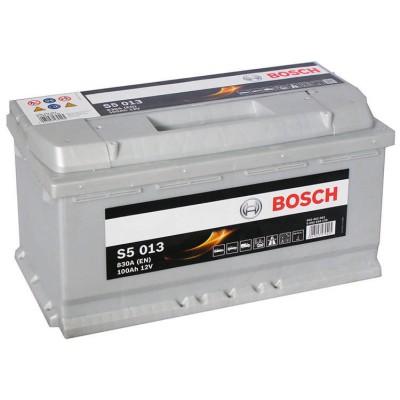 Аккумулятор BOSCH Silver Plus 100AH 830A(EN) клемы 0 (353x175x190) S5 013