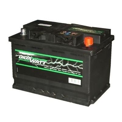 GIGAWATT Аккумулятор 70AH 640A(EN) клемы 0 (278x175x175) S3 007