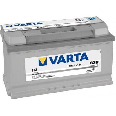 Аккумулятор Varta Silver Dynamic 100AH 830A(EN) клемы 0 (353x175x190) S5 013